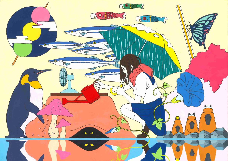 第3回 北九州高校生イラストコンテスト受賞作品発表! | 麻生情報